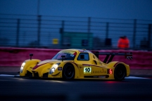 #10 Laurence Wiltshire Chanin Nouri Martyn Smith Richard Roberts - Radical RXC V8 - night qualifying for the Britcar Dunlop 24hr race at Silverstone Circuit Northamptonshire England. Friday 24th April 2015. Photo: Dave Ayres - Picturesports