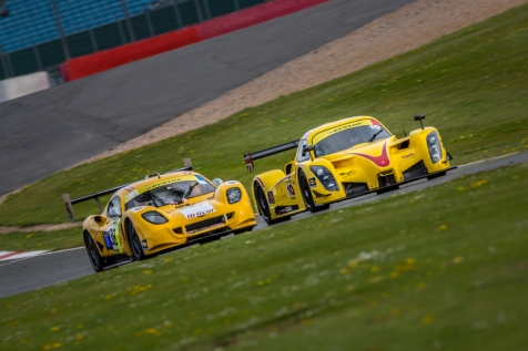 #10 Laurence Wiltshire Chanin Nouri Martyn Smith Richard Roberts - Radical RXC V8 - competing in the Britcar Dunlop 24hr race at Silverstone Circuit Northamptonshire England. Saturday 25th April 2015. Photo: Dave Ayres - Picturesports